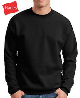 Hanes Crewneck Sweatshirt - Brand X Custom T-Shirts