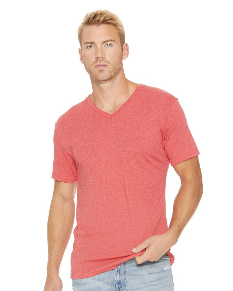 Next-Level-triblend-vneck-6040