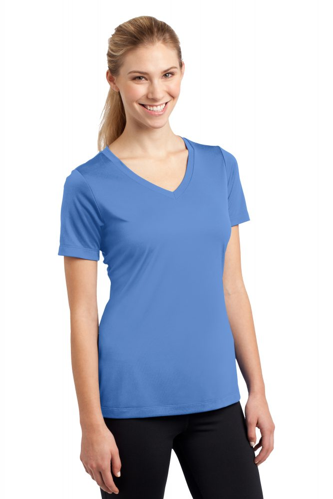 sport-tek-ladies-performance-vneck-LST353