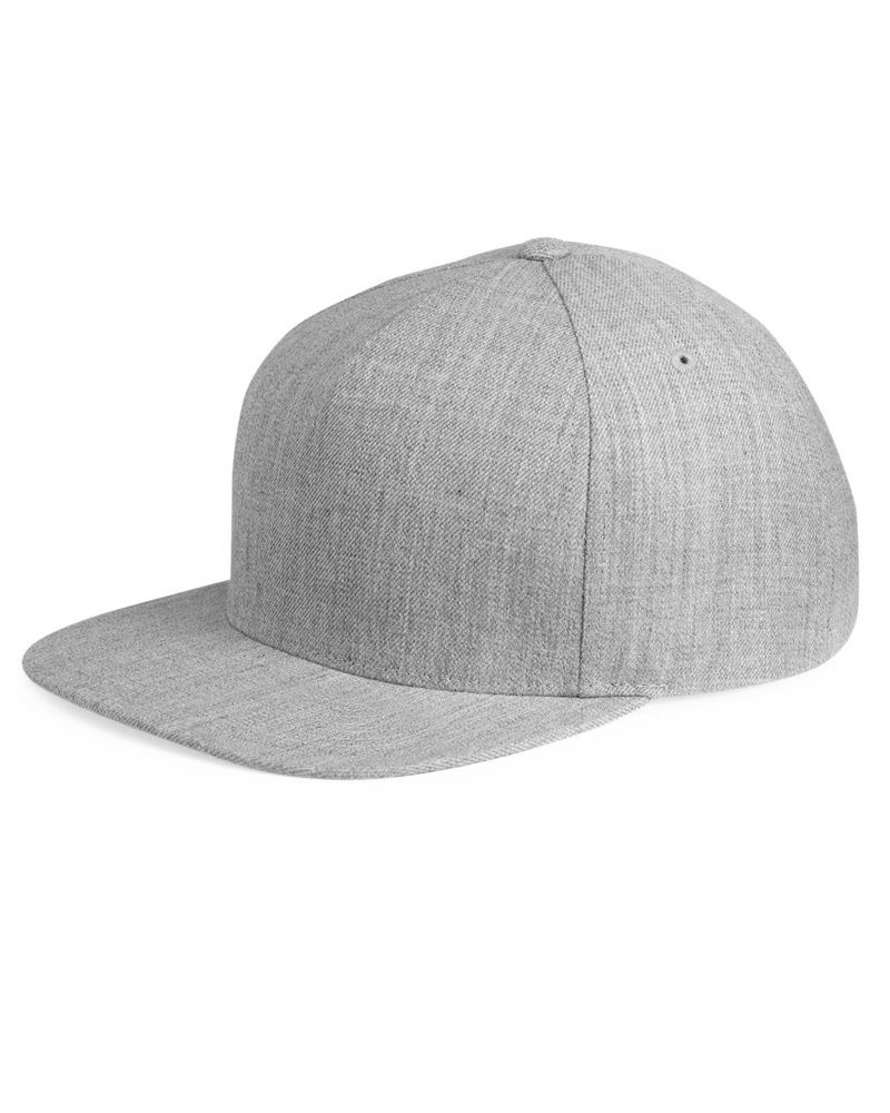 yupoong-5089M-5panel-wool-blend