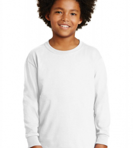 Gildan Ultra Cotton Youth Long Sleeve Tee 2400b