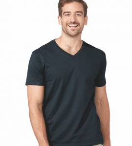 Next Level Premium Cotton Vneck 3200