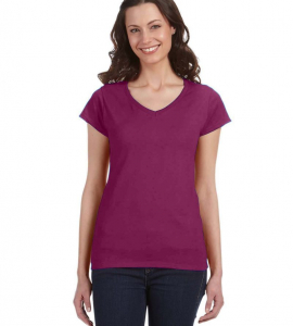 Gildan Softstyle Ladies Vneck 64V00L